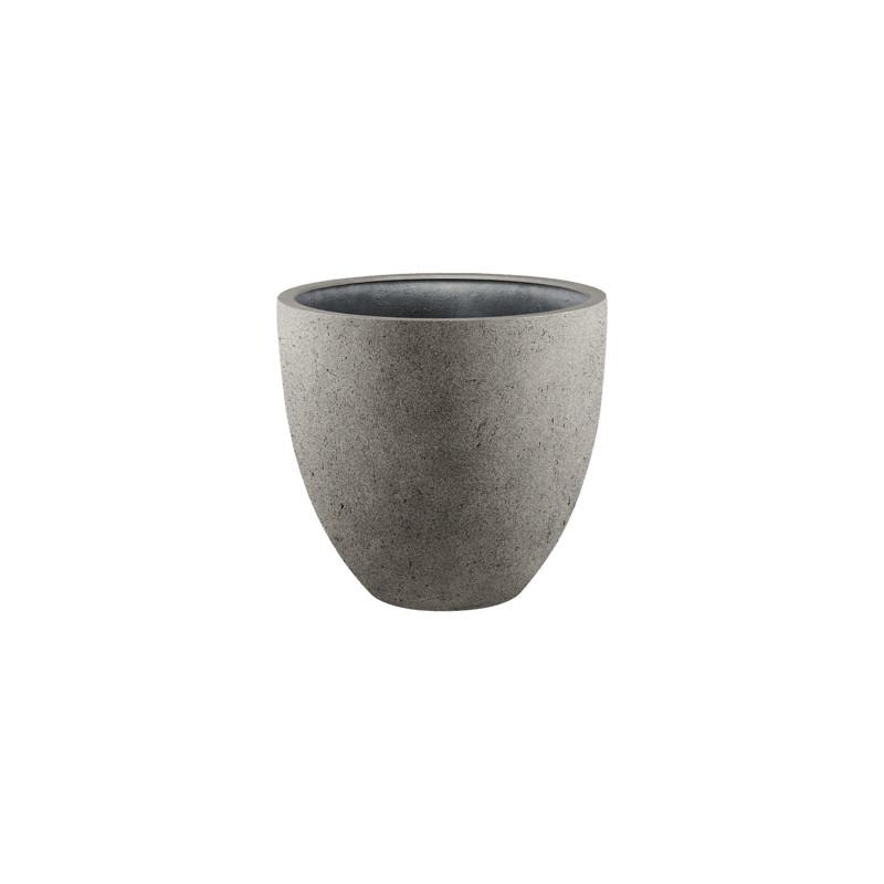 Grigio D-lite Egg pot S natural-concrete 32x29 cm