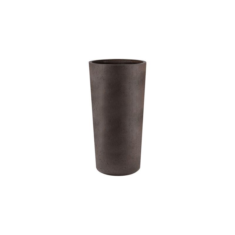 Grigio Vase Tall Rusty Iron-concrete 36x68 cm