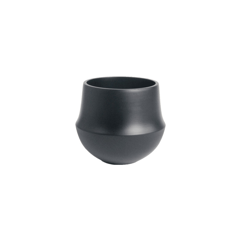 D&M Indoor pot fusion black 32x31cm
