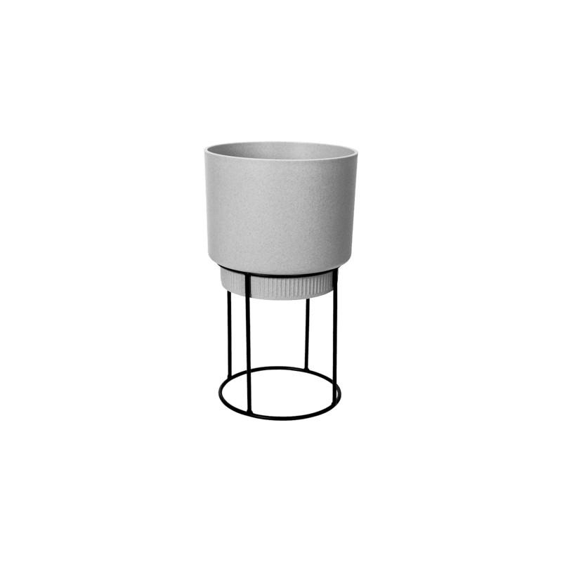 B.For Studio Round Living Concrete 30x69 cm