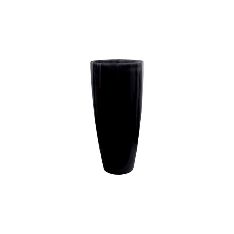 Fiberstone Glossy black dax XL 47x100 cm