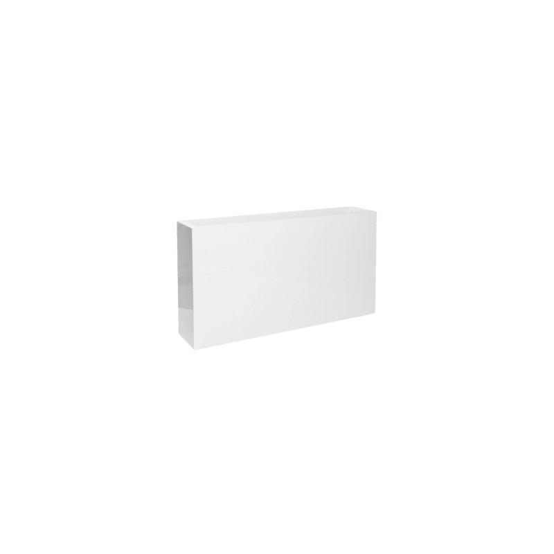 Fiberstone Glossy white jort slim S 91x20x50 cm