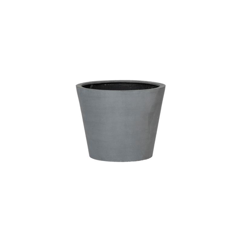 Fiberstone bucket grey 48x40 cm