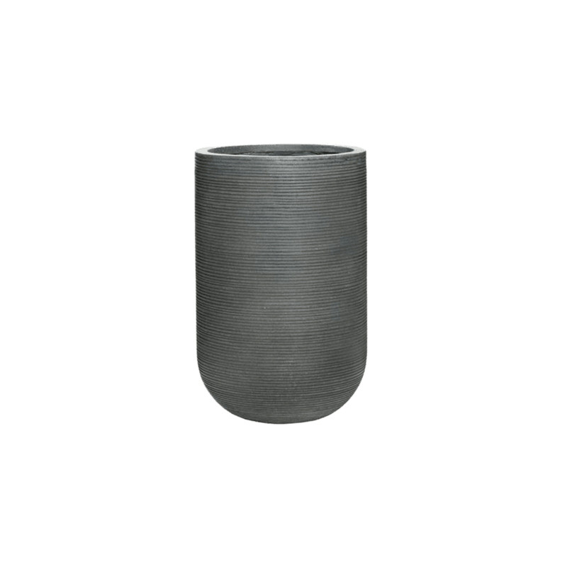 Fiberstone Ridged Dark Grey Cody  35/55cm