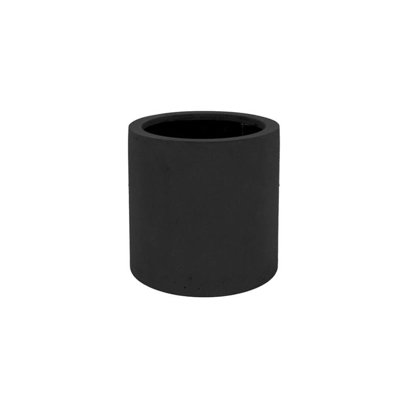 Kvetináč Fiberstone Max S čierny 30x30 cm