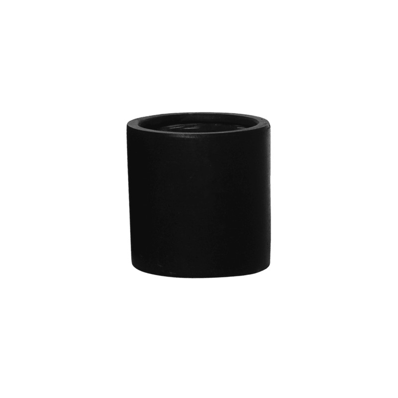 Fiberstone Puk black S 15x15cm