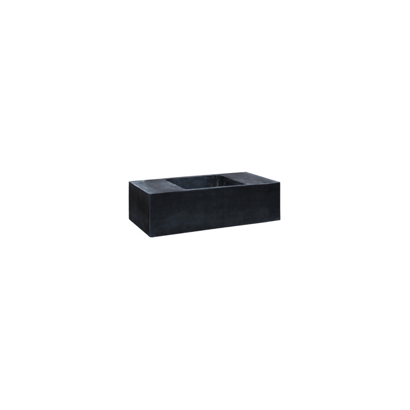 Fiberstone Jumbo seating XXL black 150/80/45
