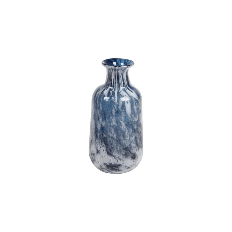 Aya Vase Bottle Petrol 18x36 cm