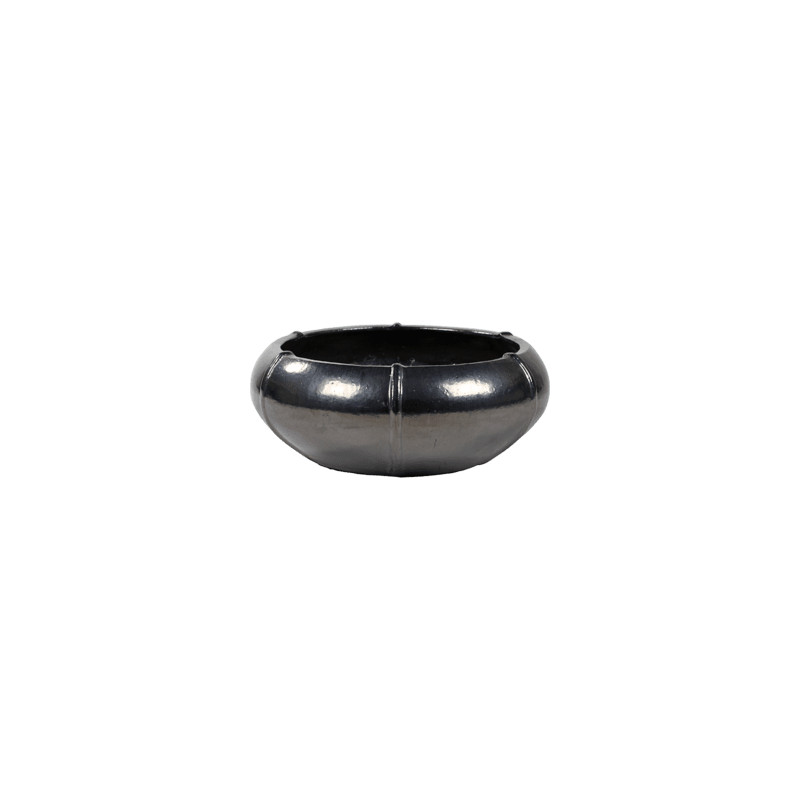 Kvetináč Moda Grey Bowl antracite 55x22 cm