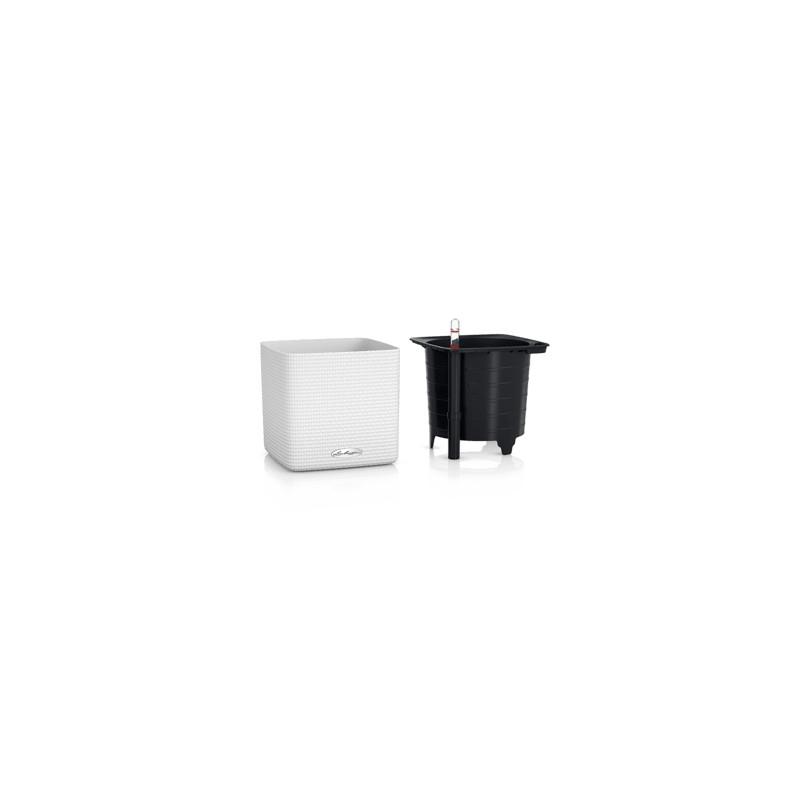 Lechuza Cube Color (trend) all inclusive set white 17x17x16 cm