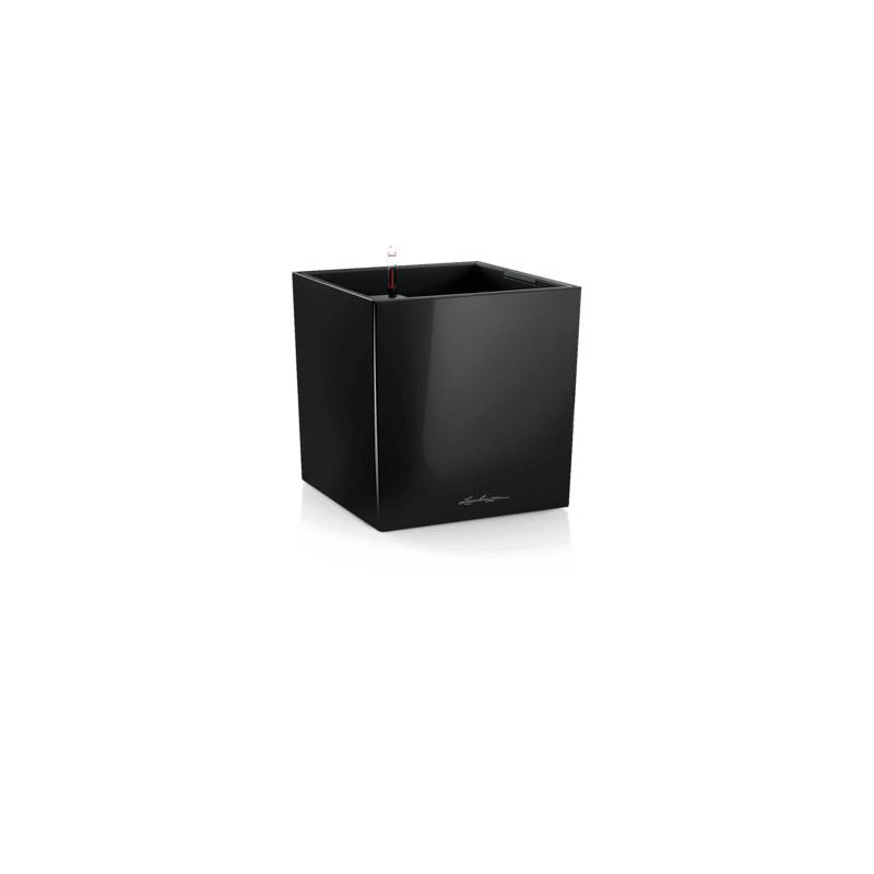 Lechuza Cube Premium All-in-One set black 40x40x40