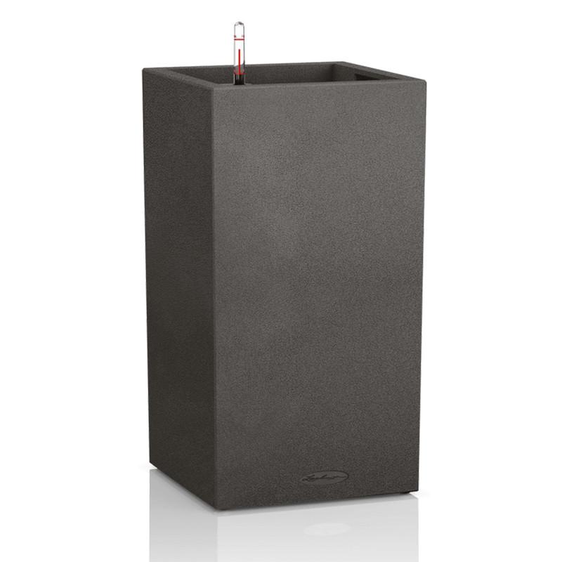 Lechuza Canto Tower Trend All inclusive set sand graphite black 30x30x56