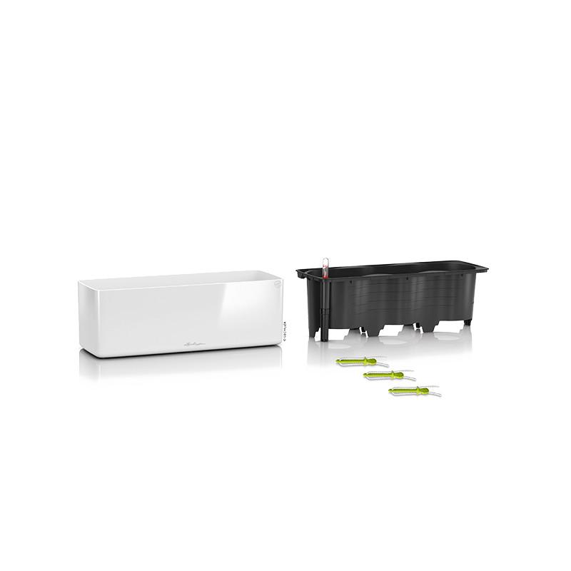 Lechuza Cube Glossy Triple All inclisive set white 40x14x14 cm