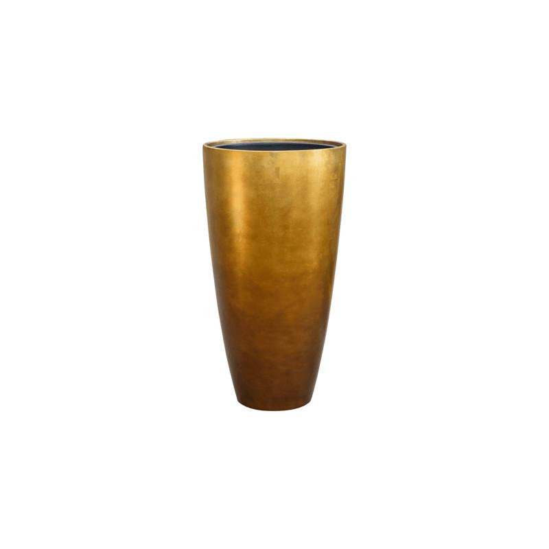 Metallic Silver leaf partner matt honey (+ vnutro) 40x75 cm