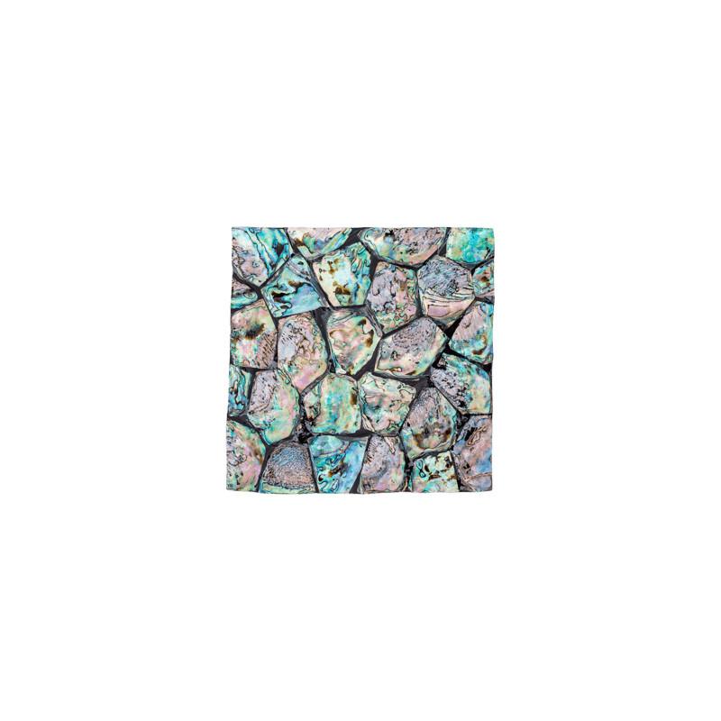 Oceana Pearl Abalone sample plate blue 20x20x2 cm