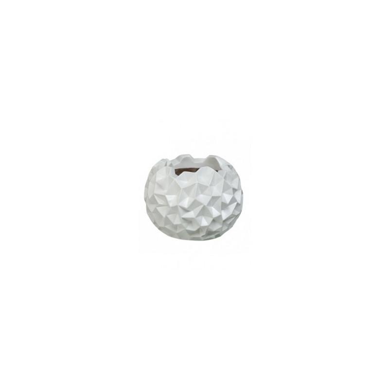 Pot - Vaas krater vase matt white 41x33 cm
