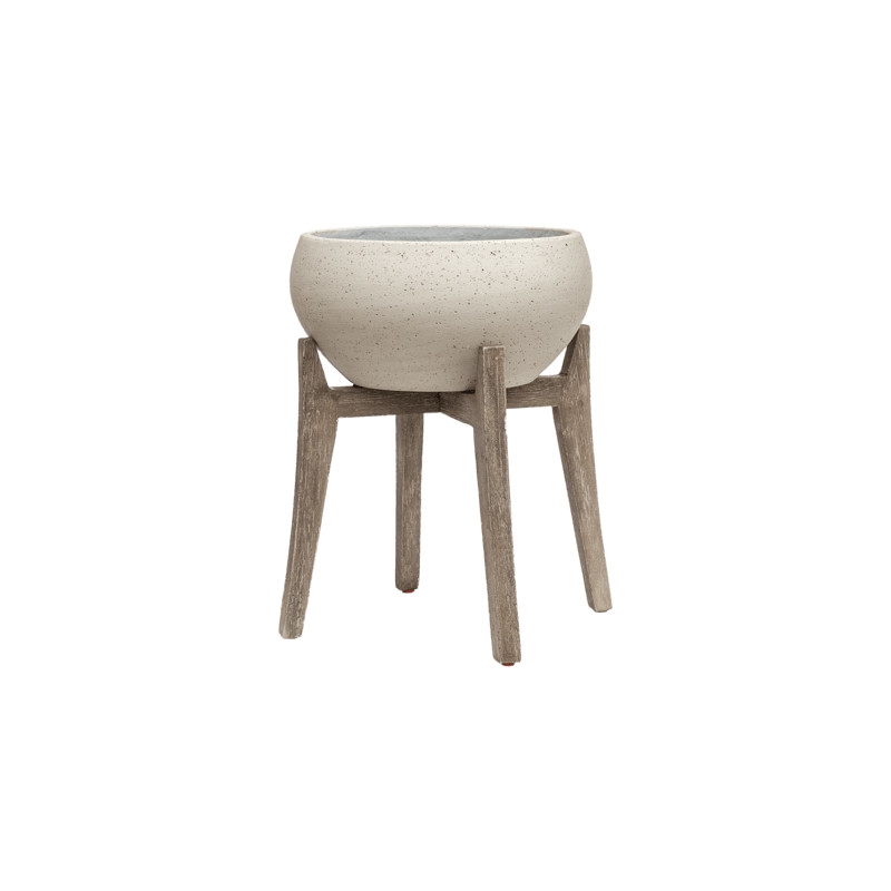 Cement With feet Cibey M Beige washed 47x54 cm