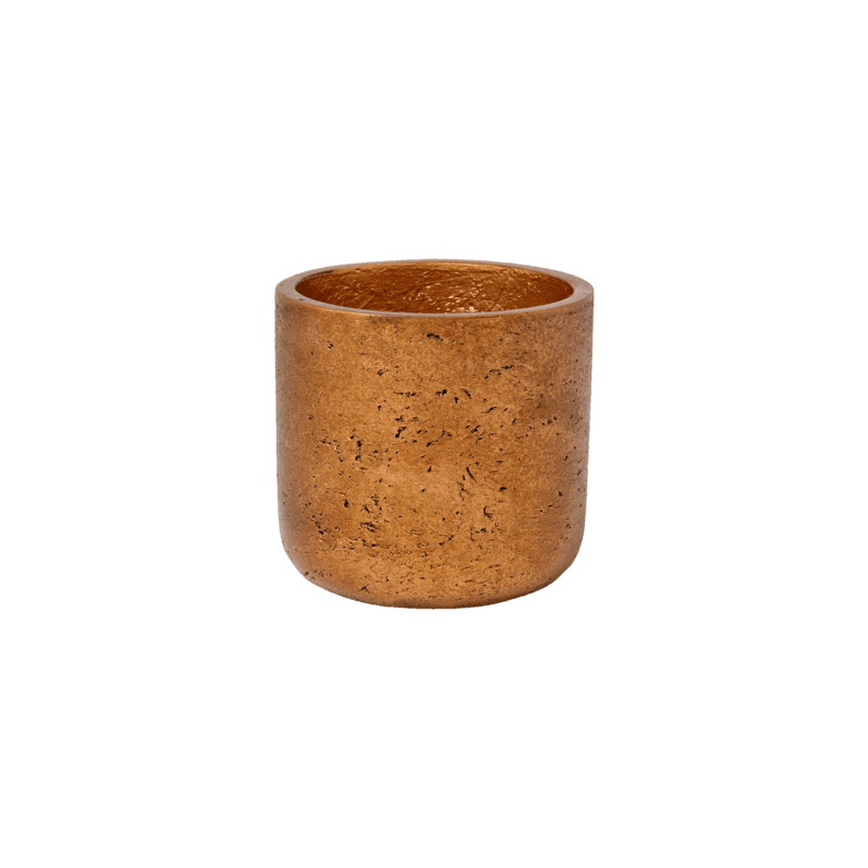 Rough Charlie XS metalic copper 12x12 cm