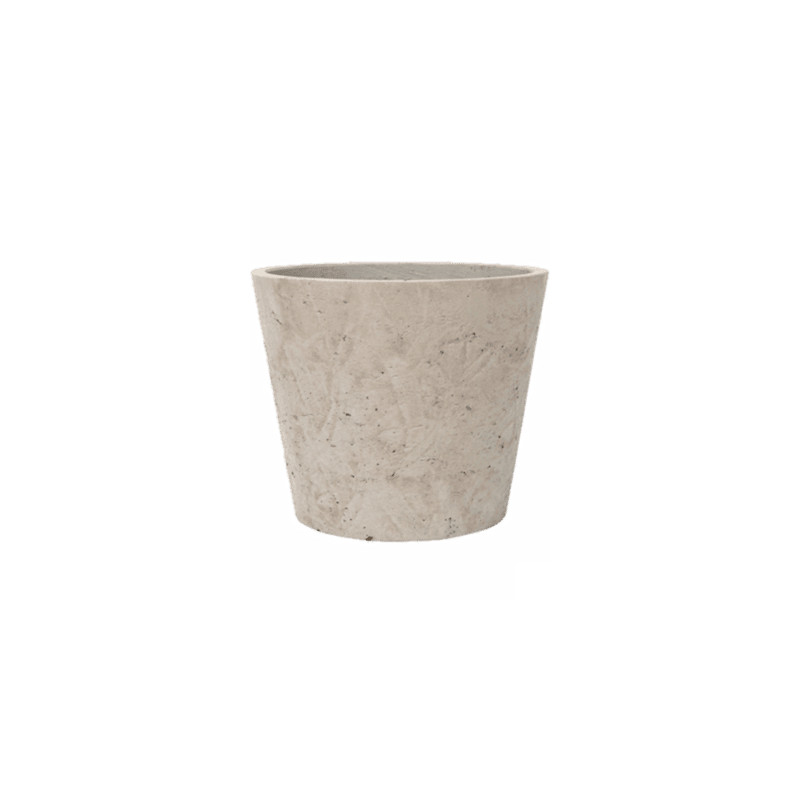 Rough Bucket L grey mini washed 23x20 cm