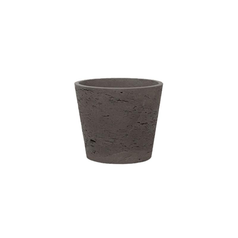 Rough Bucket S chocolat 14x12 cm