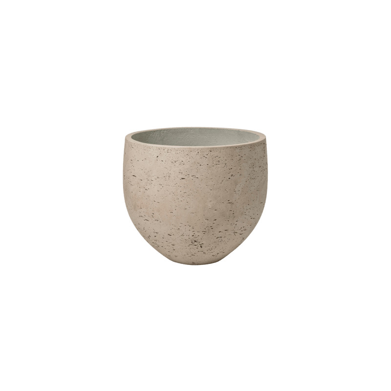 Rough Orb L grey washed 32x28 cm