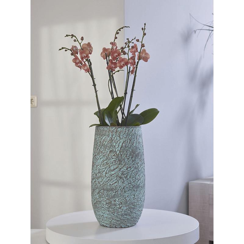 Indoor Pottery Pot Evi Antiq bronze 19x37 cm