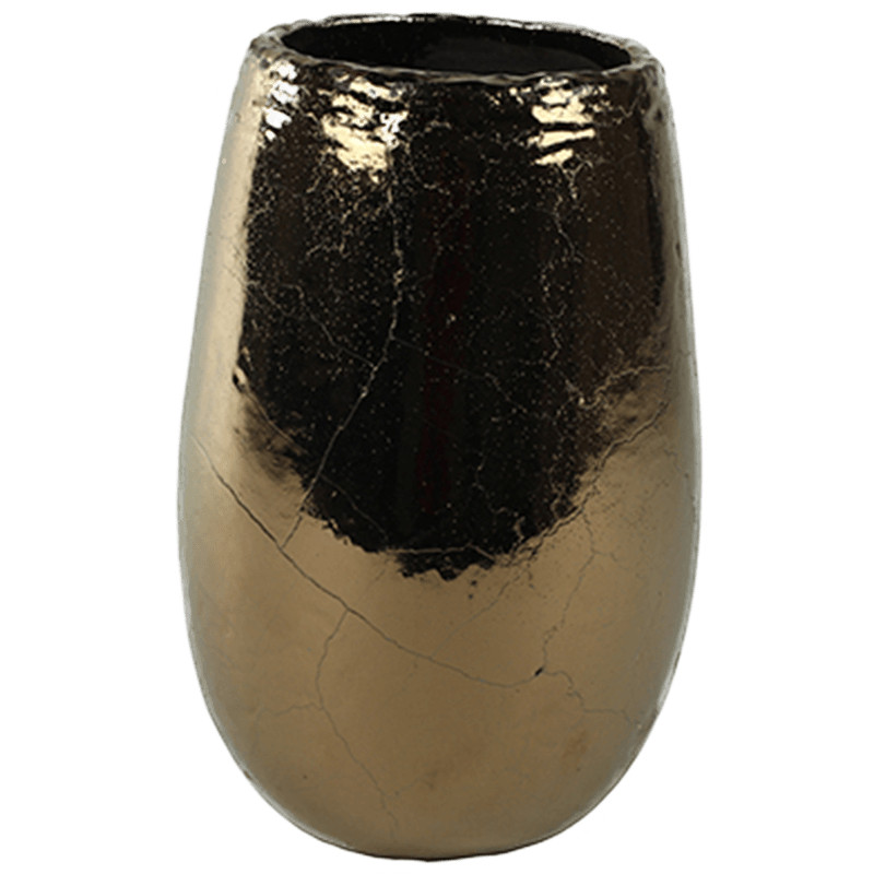 Indoor Pottery Pot kirsty gold 17x26 cm