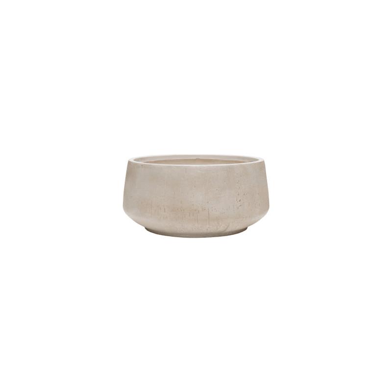 Raindrop bowl beige 55x26 cm