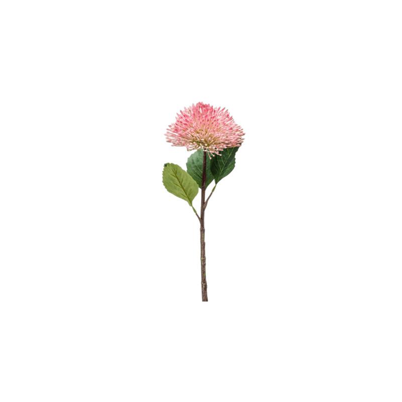 Umelý kvet Sedum Branch ružový 43 cm