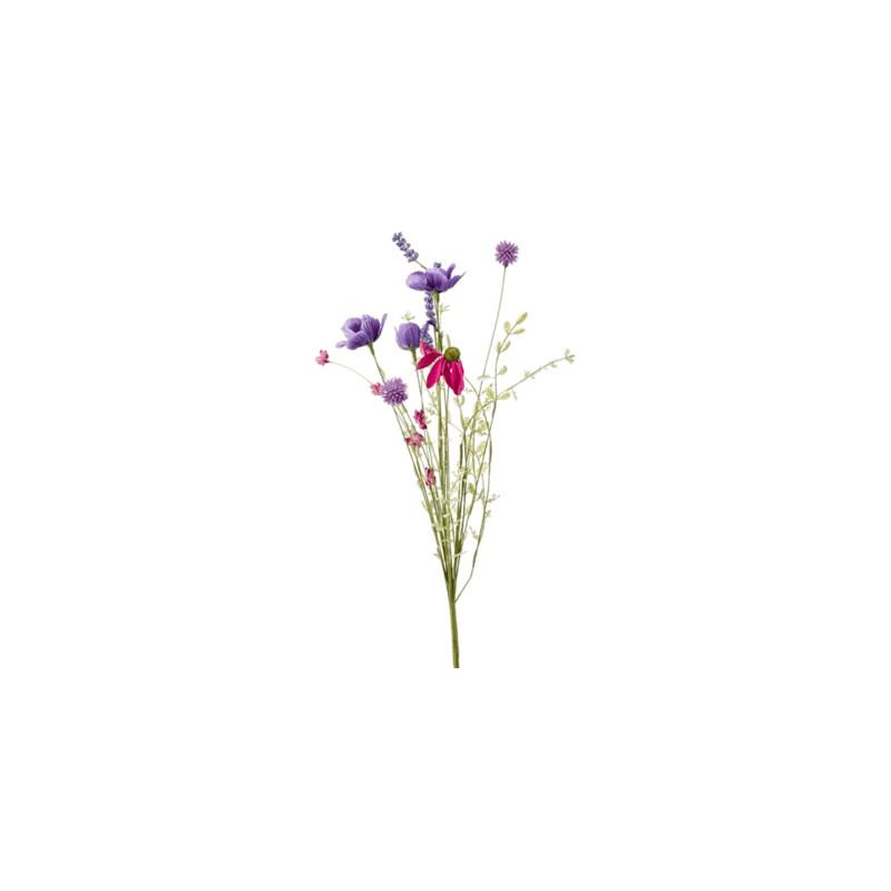 Field Flower Branch Purple 50 cm