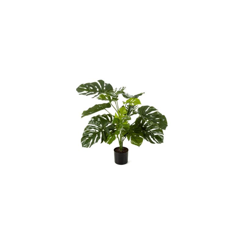 Umelá rastlina Monstera deliciosa Bush 85 cm