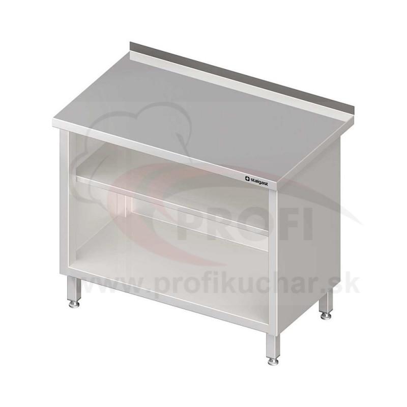 Pracovný stôl krytovaný - otvorene 700x700x850mm