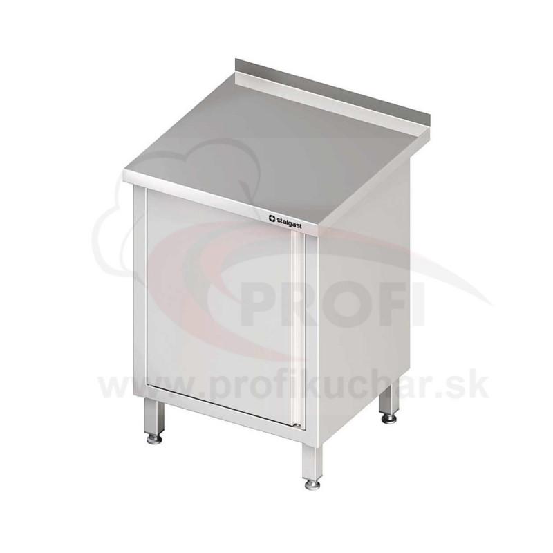 Pracovný stôl krytovaný - otvorene 1300x700x850mm