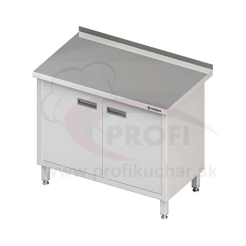 Pracovný stôl krytovaný - krídlové dvere 700x600x850mm