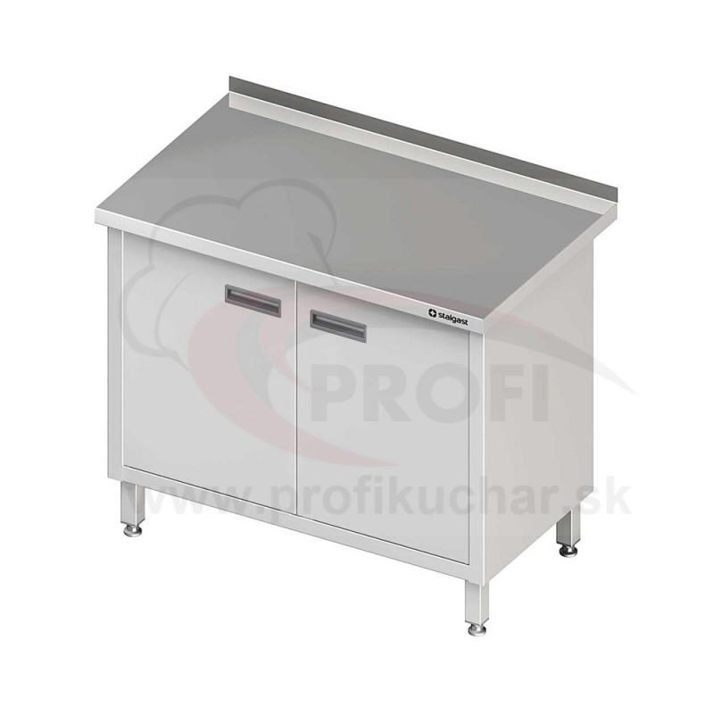 Pracovný stôl krytovaný - krídlové dvere 900x700x850mm
