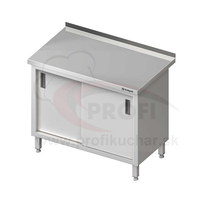 Pracovný stôl krytovaný - posuvné dvere 1700x600x850mm