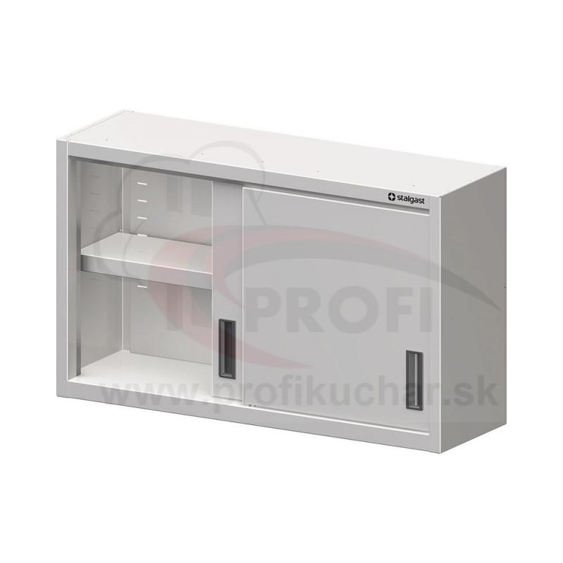 Nástenná skrinka - posuvné dvere 1600x400mm