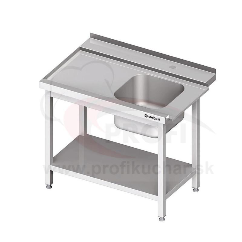 Vstupný stôl k priebežnej umývačke STALGAST – LAVÝ1000mm