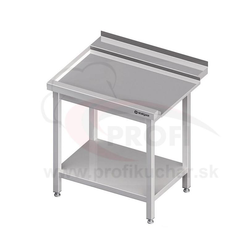Výstupný stôl k priebežnej umývačke STALGAST – LAVÝ 1300mm