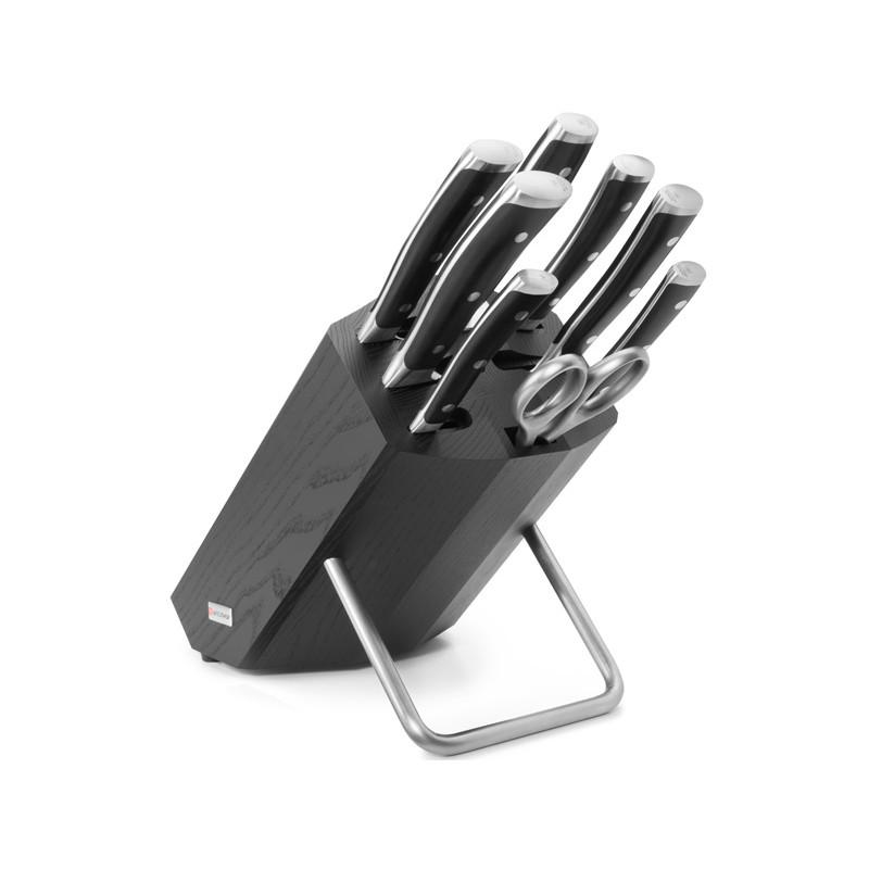 Wüsthof CLASSIC IKON Blok s noži - 8 dílů 9880