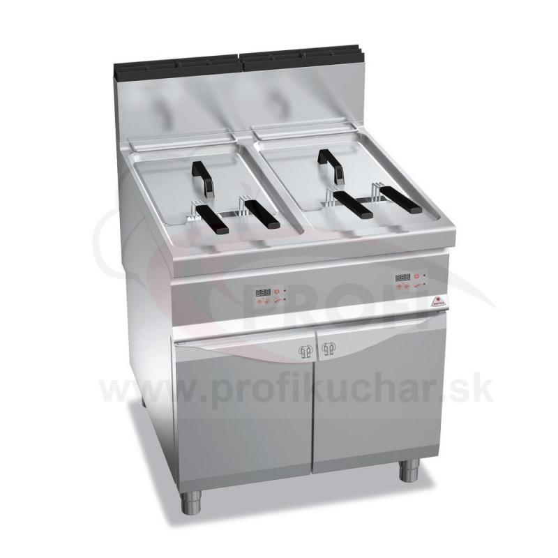 Plynová fritéza BERTO´s 2 x 22 L