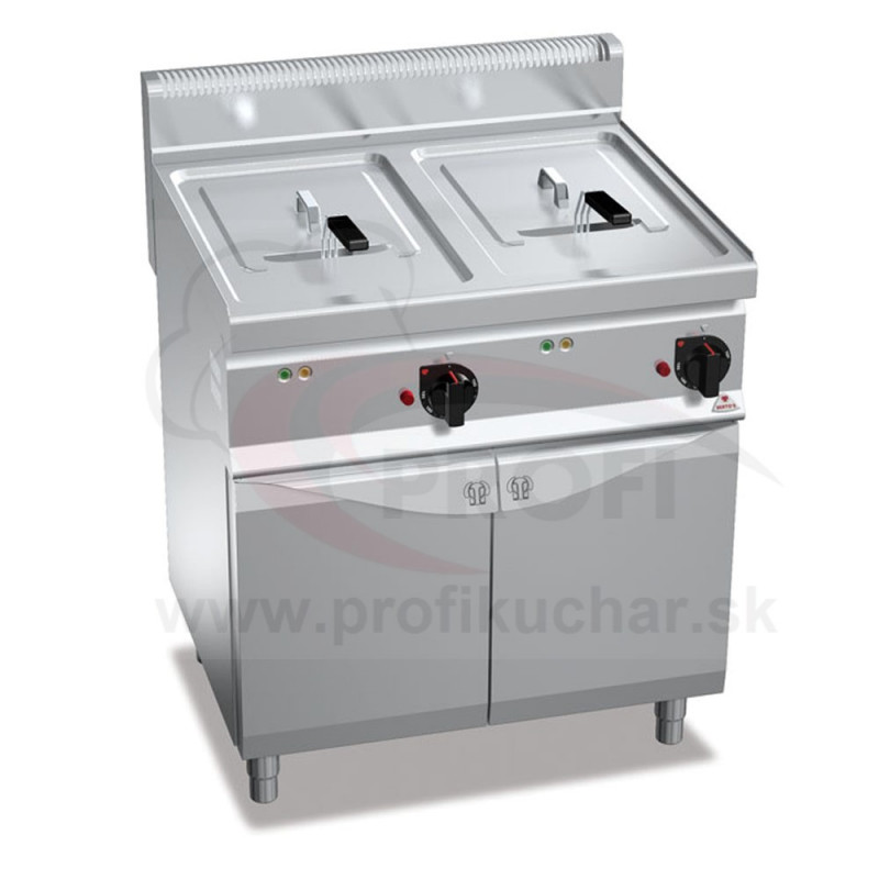 Elektrická fritéza BERTO´s 2 x 18 L