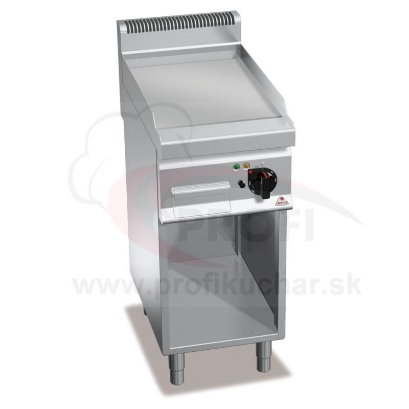 E-grilovacia platna BERTO´s hladka, 400 x 700 x 900 mm