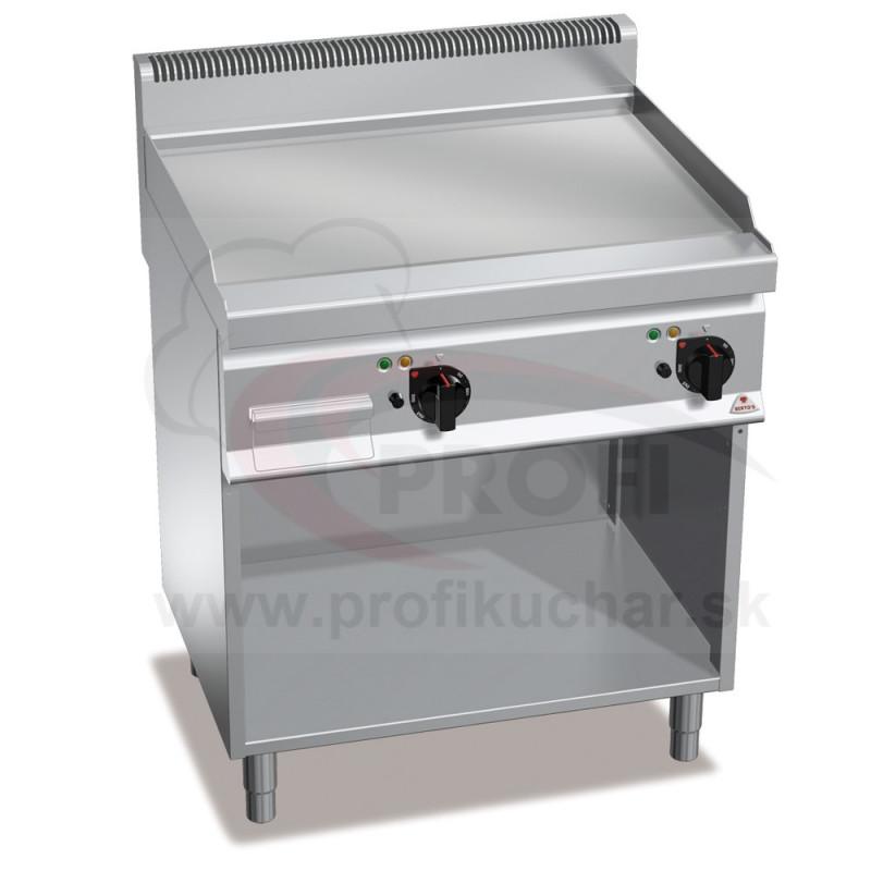 E-grilovacia platňa BERTO´S hladká 9,6 kW