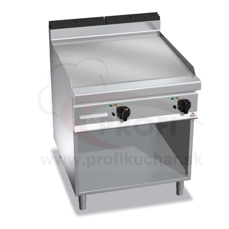 E-grilovacia platna BERTO´s hladka, 11,4 kW