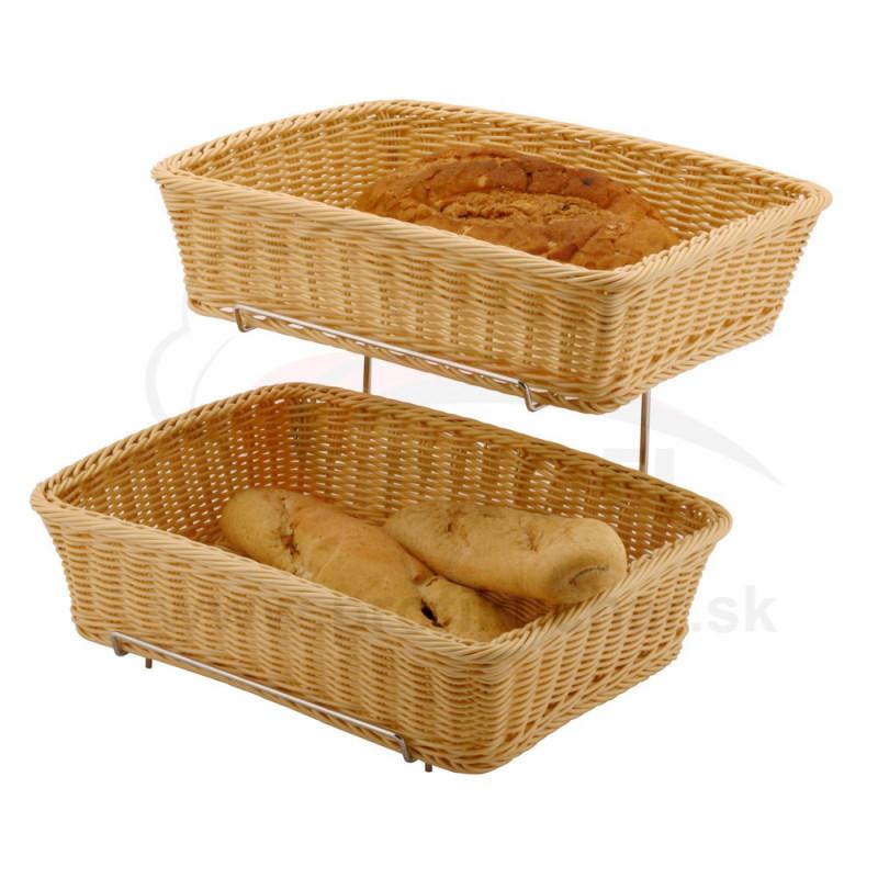 Košíky štvorcové HENDI® so stojanom