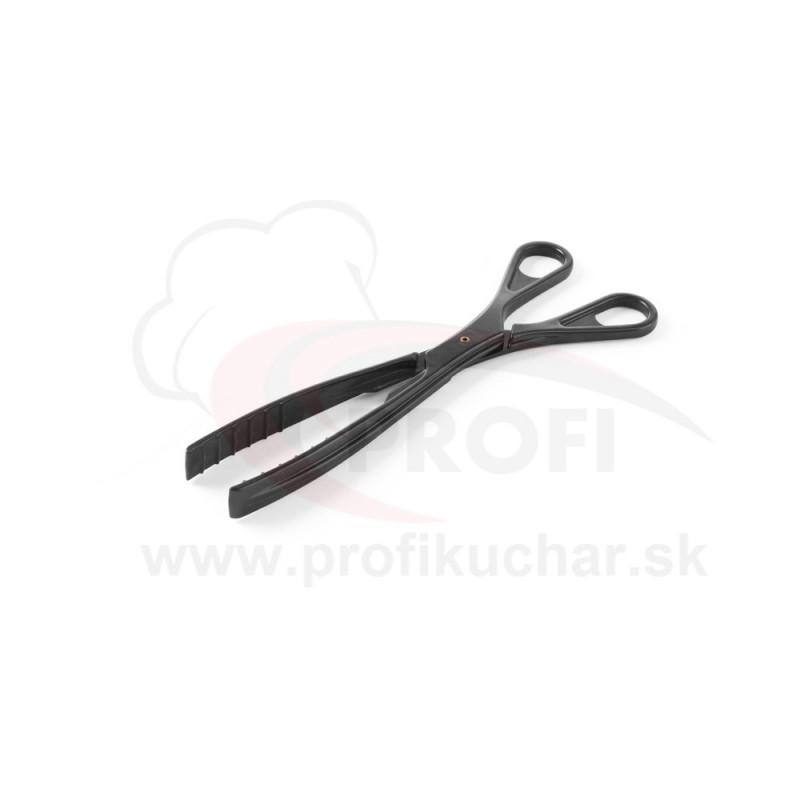 Kliešte na šalát Hendi 29 cm / čierne
