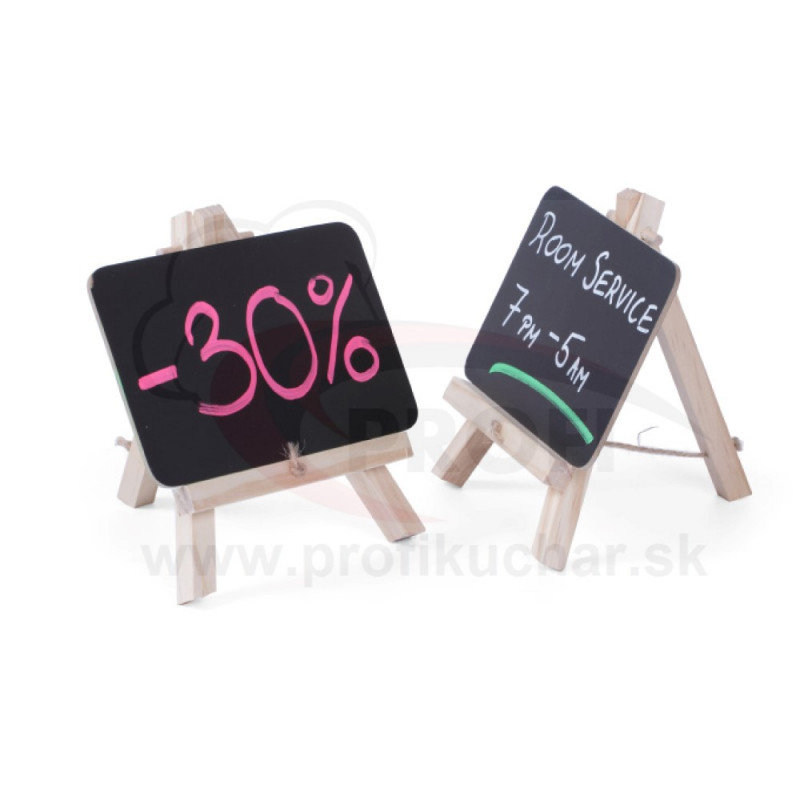 Samostojace stolové tabule STALGAST® 15 cm