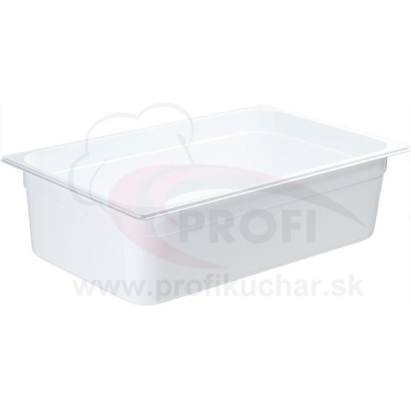 GN nádoba 1/1-150mm, bielý polykarbonát