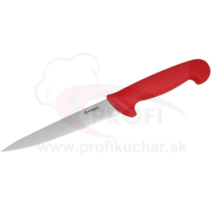 HACCP-Nôz filetovací, červený, 16cm